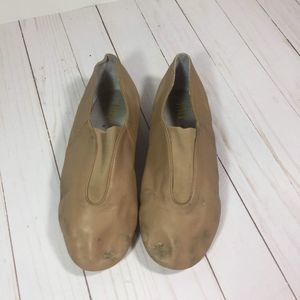Bloch Tan Jazz Shoes Size 8
